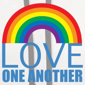 Love One Another - Contrast Hoodie