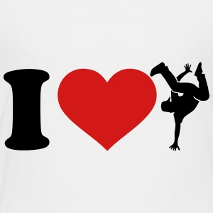 I love Breakdance Kids' Shirts - Toddler Premium T-Shirt