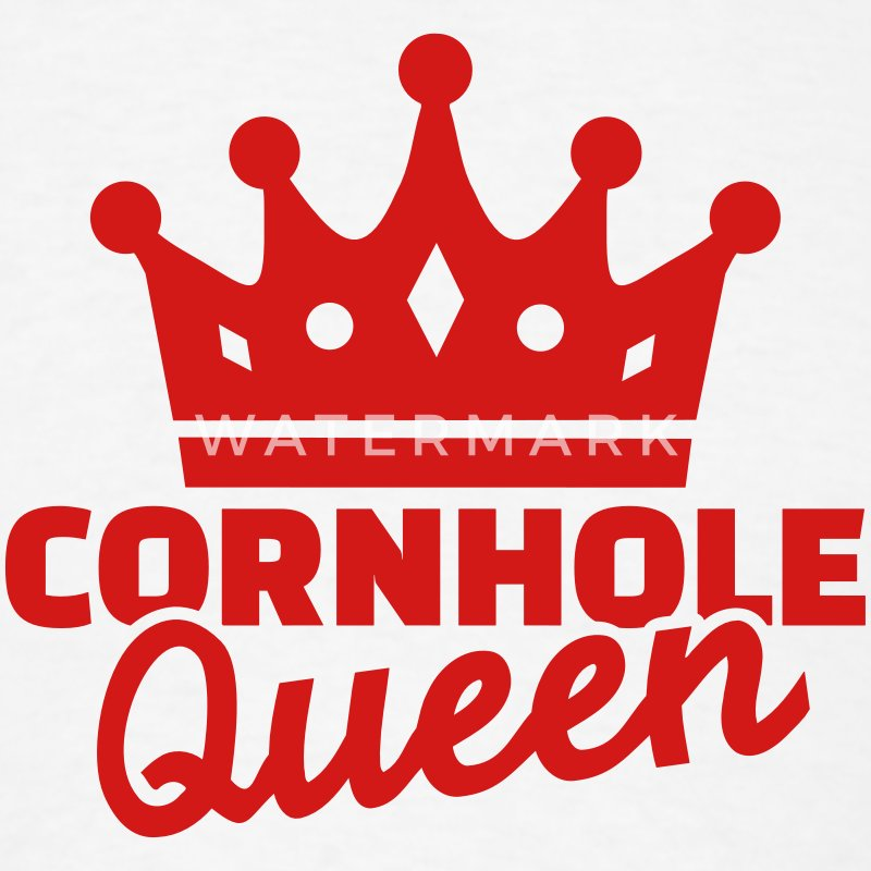 Cornhole Queen T-Shirts - Men's T-Shirt