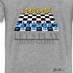 LetsPlay - chess Hoodies - Men's Premium T-Shirt