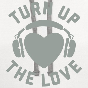 TURN UP THE LOVE T-Shirts - Contrast Hoodie