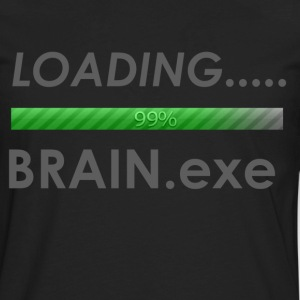 Loading brain.eze - Men's Premium Long Sleeve T-Shirt
