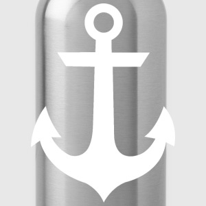 White Anchor Tank - Water Bottle