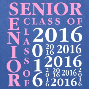 Senior Class Of 2016 Women's T-Shirts - Tote Bag
