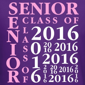 Senior Class Of 2016 Hoodies - Crewneck Sweatshirt