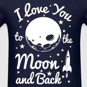 I Love You To The Moon Women's T-Shirts - Men's T-Shirt