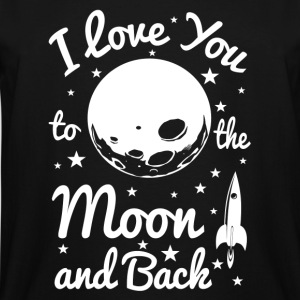 I Love You To The Moon Women's T-Shirts - Men's Tall T-Shirt