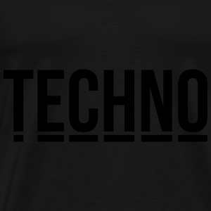 techno music club minimal Detroit Sound DJ Djane Bags & backpacks - Men's Premium T-Shirt