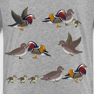 mandarin duck 1 Kids' Shirts - Toddler Premium T-Shirt