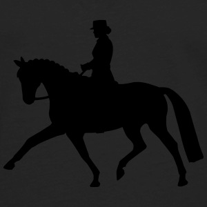 Dressage Lady Tanks - Men's Premium Long Sleeve T-Shirt