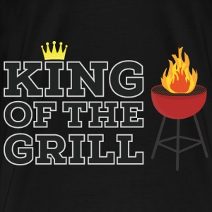 King of the grill Long Sleeve Shirts - Men's Premium T-Shirt