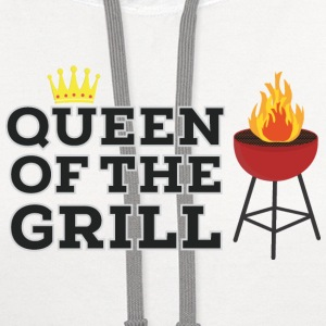 Queen of the grill T-Shirts - Contrast Hoodie