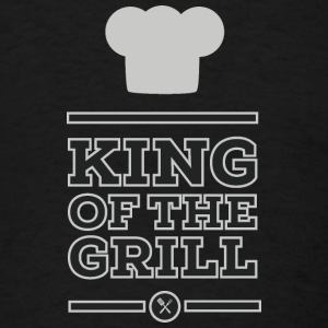 King of the grill Long Sleeve Shirts - Men's T-Shirt