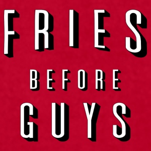 Fries Before Guys Mugs & Drinkware - Men's T-Shirt by American Apparel
