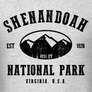 Shenandoah National Park Hoodies - Men's T-Shirt