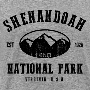 Shenandoah National Park Hoodies - Men's Premium T-Shirt