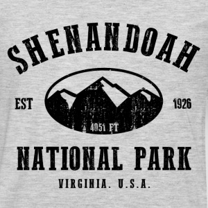 Shenandoah National Park Hoodies - Men's Premium Long Sleeve T-Shirt
