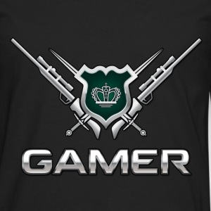 Kingdom of Gamer - Men's Premium Long Sleeve T-Shirt