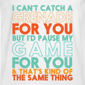 Funny Gamer T-shirt for Geek and Nerd Boyfriend - Men's Long Sleeve T-Shirt