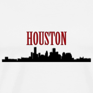 Houston Silhouette 2 - Co Tanks - Men's Premium T-Shirt