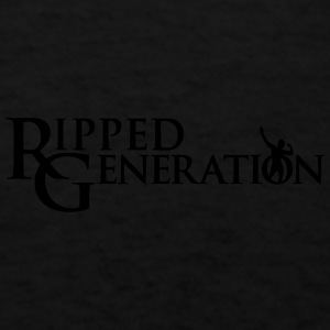Ripped Generation Simple Logo Caps - Men's T-Shirt