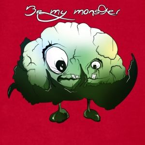 Cool Cauliflower Monster - Men's T-Shirt by American Apparel