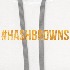 #Hashbrowns Women's T-Shirts - Contrast Hoodie