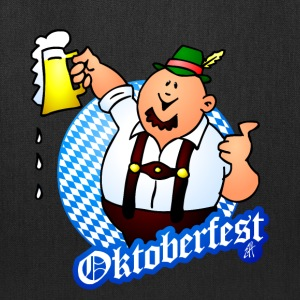 Oktoberfest - man in lederhosen T-Shirts - Tote Bag