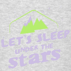 Camping: lets sleep under the stars Tank Tops - Men's T-Shirt