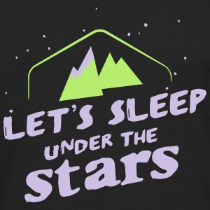 Camping: lets sleep under the stars Women's T-Shirts - Men's Premium Long Sleeve T-Shirt