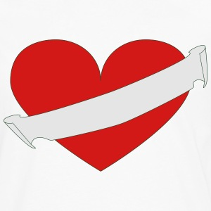 Heart your text - Men's Premium Long Sleeve T-Shirt