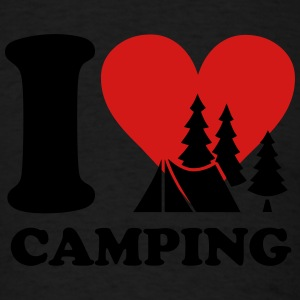 i love camping Tank Tops - Men's T-Shirt