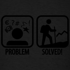 Camping problem solved Tank Tops - Men's T-Shirt