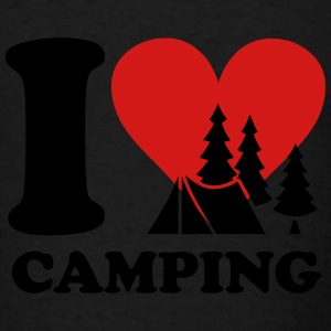 i love camping Tanks - Men's T-Shirt