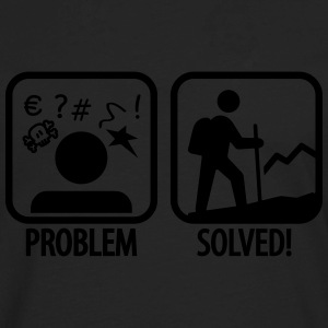 Camping problem solved Women's T-Shirts - Men's Premium Long Sleeve T-Shirt