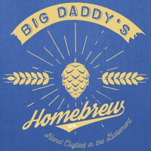 Big Daddy's Homebrew_cream - Tote Bag