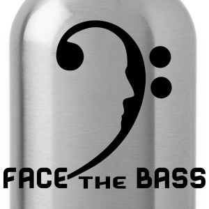 Face The Bass T-Shirts - Water Bottle