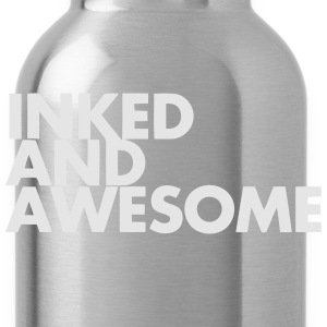INKED AND AWESOME Tank Tops - Water Bottle