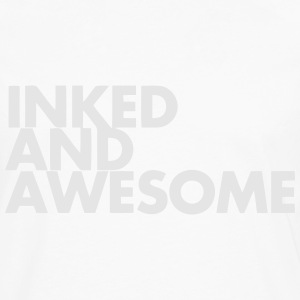 INKED AND AWESOME Kids' Shirts - Men's Premium Long Sleeve T-Shirt