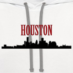 Houston Silhouette 2 - Co Women's T-Shirts - Contrast Hoodie