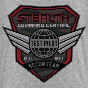 Stealth Test Pilot - Toddler Premium T-Shirt