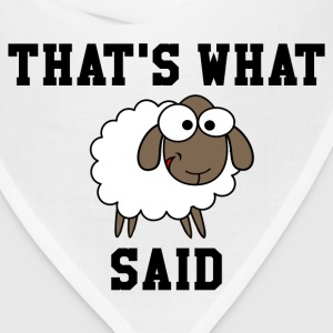 That's What Sheep Said Women's T-Shirt - Bandana