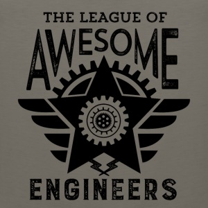 Cool Engineering T-shirt League Awesome Engineers - Men's Premium Tank