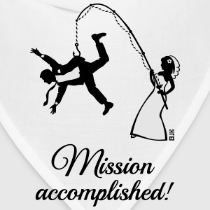 Mission Accomplished / Bride Fishing Husband Women's T-Shirts - Bandana