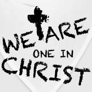 We Are One In Christ Hoodies - Bandana