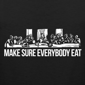 EVERYBODY EATS TEE - MEN - Men's Premium Tank