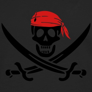jolly roger pirate swords Women's T-Shirts - Men's Premium Long Sleeve T-Shirt