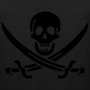 Jolly roger swords Hoodies - Men's Premium Tank