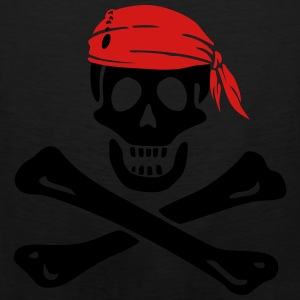jolly roger pirate Bags & backpacks - Men's Premium Tank