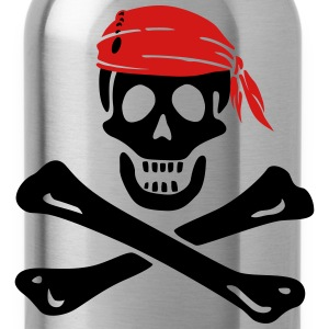 jolly roger pirate T-Shirts - Water Bottle